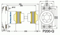 P200-Q - P200-Q afmetingen