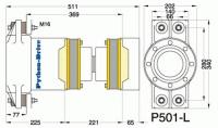 P501-L - P501-L afmetingen